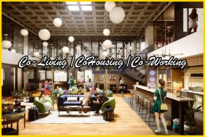 Coliving cohousing coworking