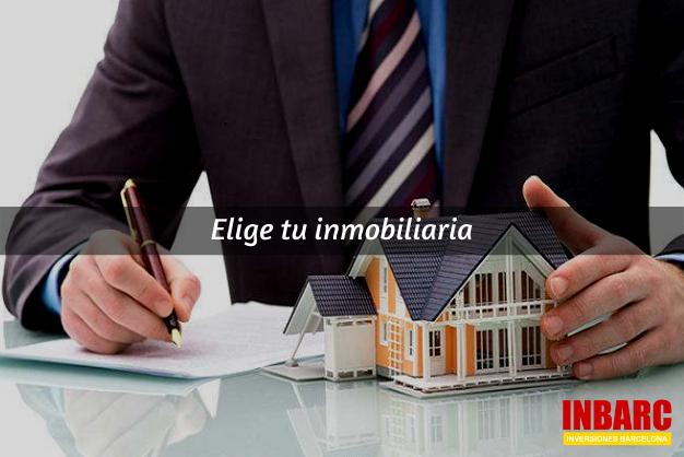 elige una inmobiliaria adecuada