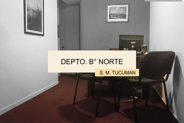 Departamento Barrio Norte Tucuman