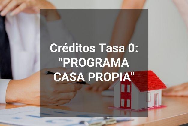 Programa Casa Propia