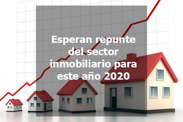 repunte inmobiliario 2020